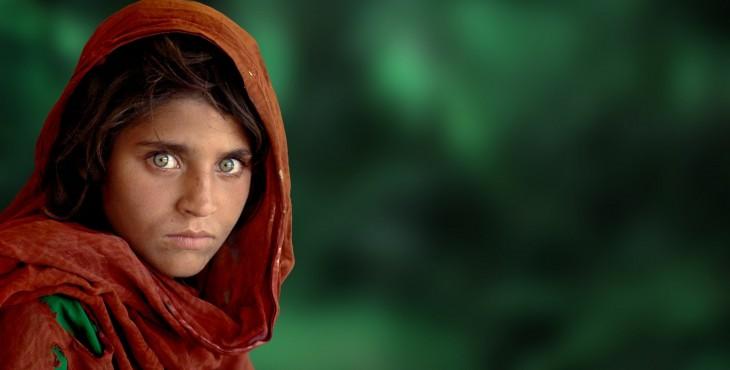 عکس دختر افغان از استیو مک کوری