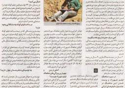 مصاحبه روزنامه همشهری با علیرضا ربیع مقدم در سال ۱۳۹۵