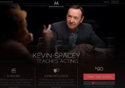 کلاس آنلاین بازیگری با کوین اسپیسی
