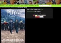 پوستر فیلم سینمایی پویا با طراحی علیرضا ربیع مقدم در بهترین سایت پوسترهای بین المللی قرار گرفت