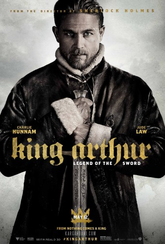 پوستر جدید فیلم شاه آرتور - افسانه شمشیر