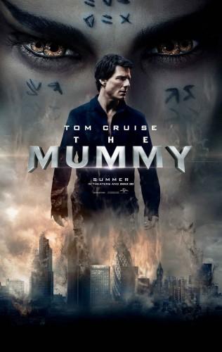 پوستر جدید فیلم مومیایی با هنرمندی تام کروز