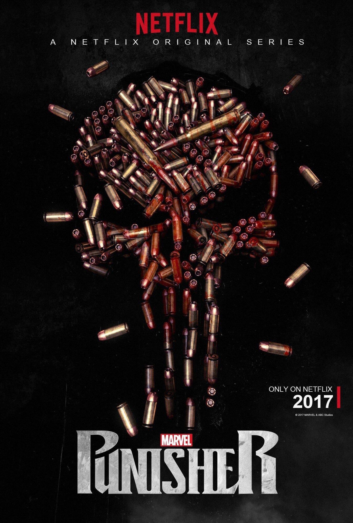 اولین پوستر سریال Punisher