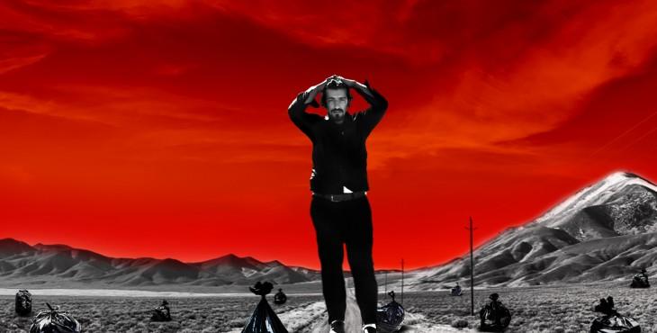 دومین پوستر فیلم کوتاه مرد عکس العمل با طراحی علیرضا ربیع مقدم